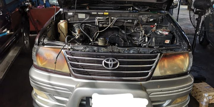 Toyota Unser get ready top overhaul